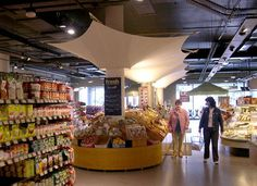 Retail fabric canopy for Fresh Supermarkets