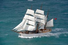Sail World - The world's largest sailing news network; sail and sailing, cruising, boating news Nautical Terms, Pirate Boats, Classic Yachts, Classic Boat, Ship Of The Line, Full Sail, Cool Boats, Canoe Trip, Yacht Boat