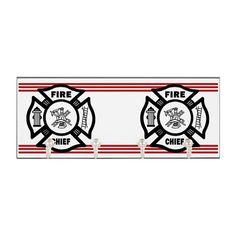 Fire Chief Key Hanger