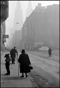 federer7:  WEST GERMANY. Cologne. 1965. Cologne after World War II. © Leonard Freed/Magnum Photos