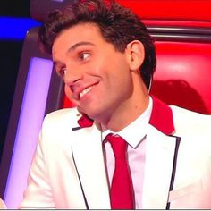 Mika The Voice France 4, amazing cute :D