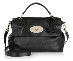 68931522c60f Beauty in black Mulberry Satchel