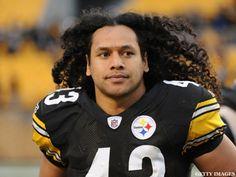 The most famous locks in the NFL are getting a trim. Troy Polamalu, whose long, luscious hair has made him one of the most recognizable athletes in Troy Polamalu, Mane Event, Hair System, Pittsburgh Steelers, Steelers Football, Football Players, Luscious Hair, Hair Falling Out, Hair Starting