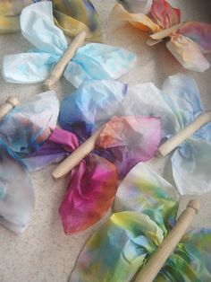 Coffee Filter Butterflies - The Simple Craft Diaries