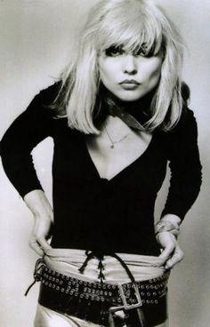 Lately, I wish I was Debbie Harry. She so gritty.
