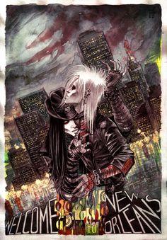"Fanart to ""Lost Souls"" (novel by Poppy Z. Brite) by Shademeister"