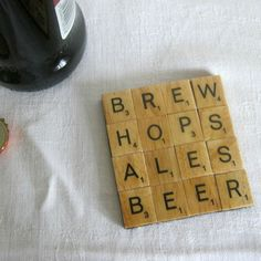 Hey, I found this really awesome Etsy listing at https://www.etsy.com/listing/249700706/brewers-gift-beer-drinkers-coaster-brew