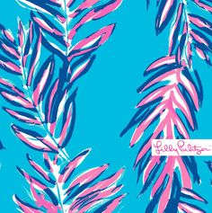 Lilly Pulitzer Searulean Blue Sea Spray