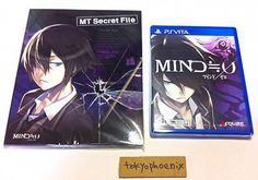 BRAND NEW PS Vita PSV  Mind Zero 0 Japan IMPORT w/ Bonus CD.. USD 17.0 Ebay Shopping, Ps, Zero, Video Games, Mindfulness, Brand New, Japan, Videogames, Okinawa Japan