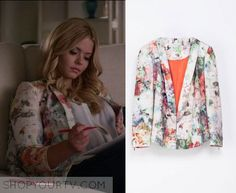 Pretty Little Liars: Season 6 Episode 17 Alison's Floral Blazer