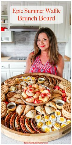food platters \ food - food recipes - food cravings - food photography - food videos - food platters - food and drink - food presentation Brunch Recipes, Appetizer Recipes, Breakfast Recipes, Brunch Foods, Breakfast Platter, Breakfast Buffet, Breakfast Casserole, Charcuterie Recipes, Charcuterie Board