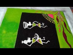 Hello friends, this is the very easy and beautiful warali poster rangoli. In this video I show u step by step idea for making warali rangoli. Indian Rangoli Designs, Rangoli Designs Latest, Latest Rangoli, Simple Rangoli Designs Images, Rangoli Designs Flower, Colorful Rangoli Designs, Beautiful Rangoli Designs, Diwali Rangoli, Easy Rangoli