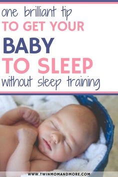 The brilliant sleep tip we used to get our twins to sleep through the night without having to do cry it out or any version of sleep training. One of the best tips out there to help your newborn get the sleep they (and you! Help Baby Sleep, Toddler Sleep, Kids Sleep, Bedtime Routine Baby, Baby Sleep Schedule, Twins Schedule, Gentle Sleep Training, Sleep Training Methods, Moms On Call