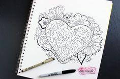 The Best Markers for Hand-Lettering | dawnnicoledesigns.com