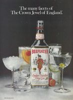 Beefeater Dry Gin 1980 Ad Picture
