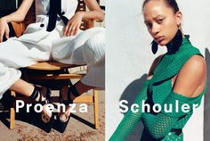 Compared to AW15 which depicted models mid-brawl, Proenza Schouler's latest ads are decidedly more relaxed. Creative directors Jack McCollough and Lazaro Hernandez worked with photographer Zoe Ghertner to capture models basking in the LA sun.