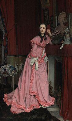 Portrait of the Marquise de Miramon, Tissot