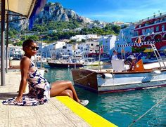 We can't wait for summer to get here so we can see these #Capri views like @wanderlustmyway. // Travel Well #TravelFly!