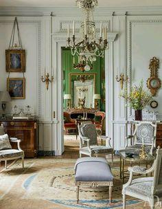 Louis XVI sitting room.