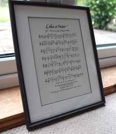 Commission for a wedding present - much care needed to get music right!