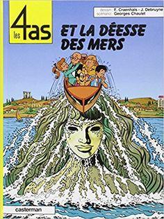 Bande Dessinée   - Les 4 as, tome 25 : Les 4 as et la déesse des mers - François Craenhals, Jacques Debruyne, Georges Chaulet - Livres