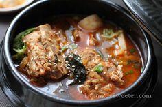 Korean Pork Bone Potato Soup/Stew (Gamjatang)