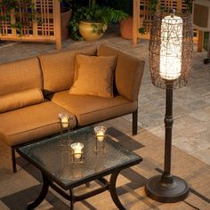 Bristol Outdoor Patio Floor Lamp - 68277