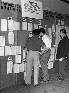 1956, mikor a magyar menekülteken segített a világ - kepek Suits, Fashion, Moda, Suit, Fasion, Wedding Suits, Trendy Fashion, La Mode