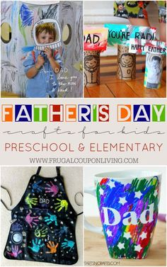 Diy Father's Day Gifts, Father's Day Diy, Gifts For Dad, Kids Fathers Day Gifts, Homemade Fathers Day Gifts, Homemade Valentines, Kids Gifts, Mothers Day Crafts For Kids, Diy Crafts For Kids