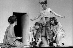 Peter Brook's Midsummer at RSC '70 Shakespeare Midsummer Night's Dream, Midsummer Nights Dream, Theatre Design, Stage Design, Set Design, Drama Education, Theatre Quotes, Theater, Midnight Summer Dream