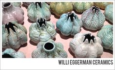 Willi Eggerman Ceramics at the 2015 Valverde Bazaar Pop-Up Outdoor Market