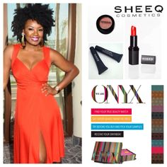 SHEEQ Cosmetics Founder, Melissa Hibbert, teamed up with We Are Onyx for a glamour for a summer giveaway.