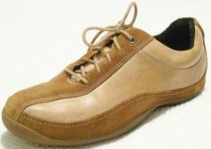 New PRIVO Womens Leather Casual Oxford Sneaker Tie Up Flat Loafers Shoes Sz 8 M