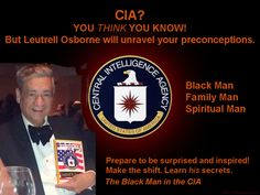 """Think you know about the CIA? Read 'BLACK MAN IN THE CIA', by Leutrell """"Mike"""" Osborne, Sr."""