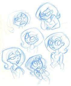 SBFF Supergirl face studies by fyre-flye.deviantart.com on @deviantART