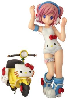 Hello Kitty to Issho! Minase Shizuku (non-scale PVC Figure)