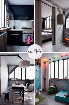 small loft in paris by the style files, via Flickr