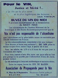 association pour la propagande du vin