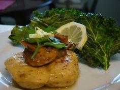 Lemon Pepper Chicken w/ Kale Chips
