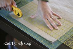 Stitched in Color: Tutorials Cutting Sashing