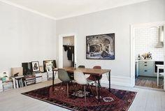 - pink ink daisies -: apartamento en Estocolmo - mtas revistas