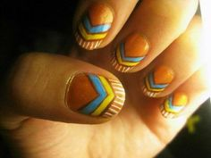♥ ♥ Native American Style Nails ♥