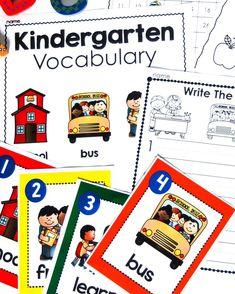 Kindergarten printab