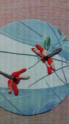 蓮の花と女の子 - むかしぎれのお細工物に魅せられて
