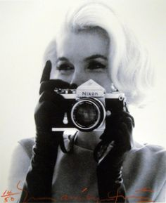 MM at anthony luke's not-just-another-photoblog Blog: Famous People With a Camera; © Bert Stern
