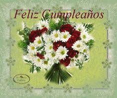 Imágenes para Crear Firmas: Cumpleaños en Español Spanish Birthday Wishes, Birthday Gifts, Happy Birthday, Amazing Gifs, Unicorn Birthday, Floral Wreath, Birthdays, Couples, Sexy