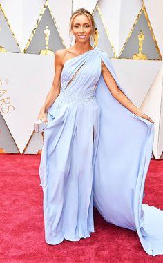 b26f4b9eab4fa8 Giuliana Rancic from Oscars 2017 Red Carpet Arrivals. Giuliana Rancic from Oscars  2017 Red Carpet Arrivals In Georges Chakra. ariane palma · DRESS BLUE ·