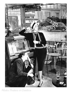 A la Recherche des Modes Perdues et Oubliées: Jardin des Modes - Mars 1957