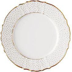 simply anna polka dinnerware via mrs. lilien