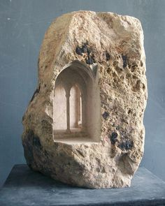 Miniature Spaces Carved From Stone,Gothic Passage. Image © Matthew Simmonds
